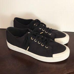 Michael Kors Black Gold City Sneakers